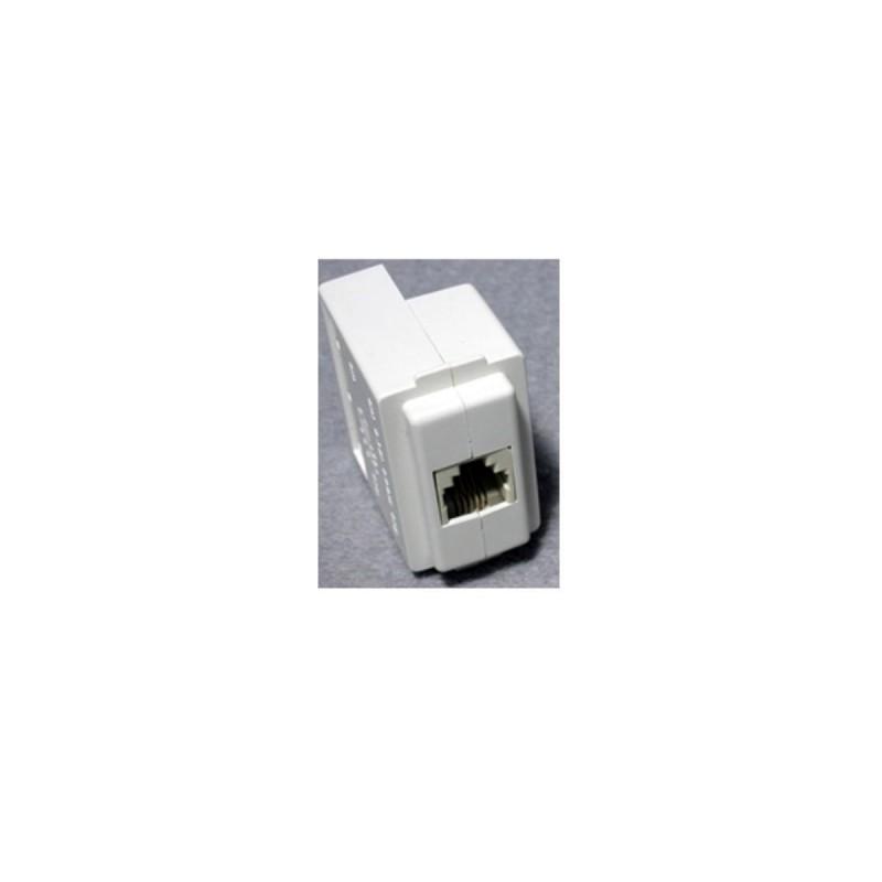 Presa Dati/Voce Rj11 4/4 Compatibile Bticino Magic 7108