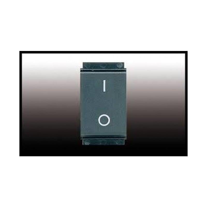 Interruttore Bipolare 2P 20A Grigio Compatibile Bticino Living Classic 7810.2