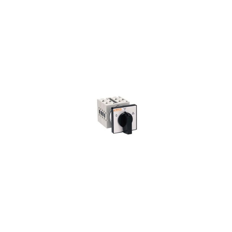 Lovato GX1611U - Invertitore Tripolare 3P 3 Posizioni Montaggio Frontale