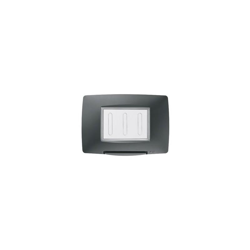 Gewiss Chorus GW16703TB Placca stagna standard italiano 3 Posti IP55 Bianco