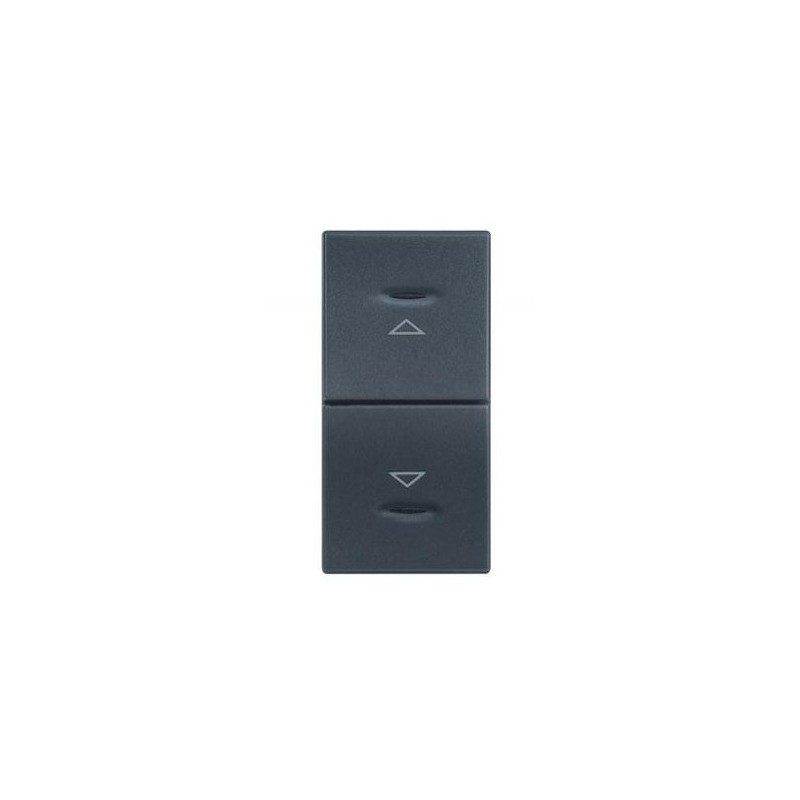 Doppio Pulsante Legrand Vela Antracite Con Frecce 1 Modulo 682745