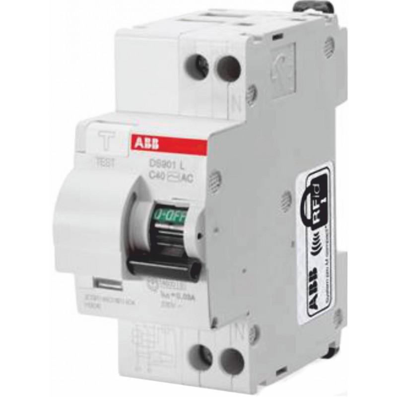 Interruttore magnetotermico 16A 1P+N 4,5kA ABB SN201LC16