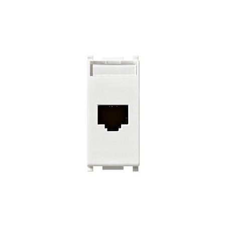 Vimar 14338.8 - Presa RJ45 Netsafe Cat5e UTP bianco