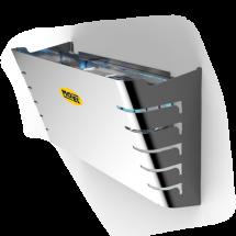 Elettroinsetticida a Carta Collante 1 X 20W HACCP Mo-Plick Inox Mo-El 398R