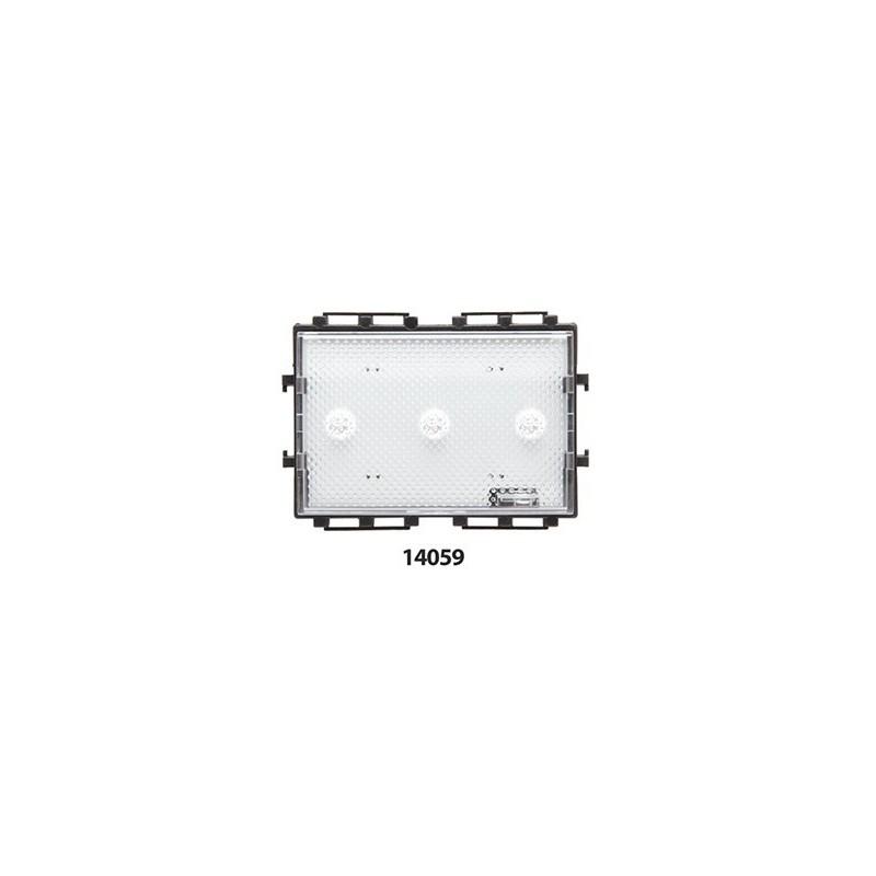 Segnapasso modulare 3 Led incasso 220 230 V Bticino Living Light
