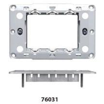 Supporto 3 Moduli Feb Elettrica serie Flat