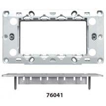 Supporto 4 Moduli Feb Elettrica serie Flat