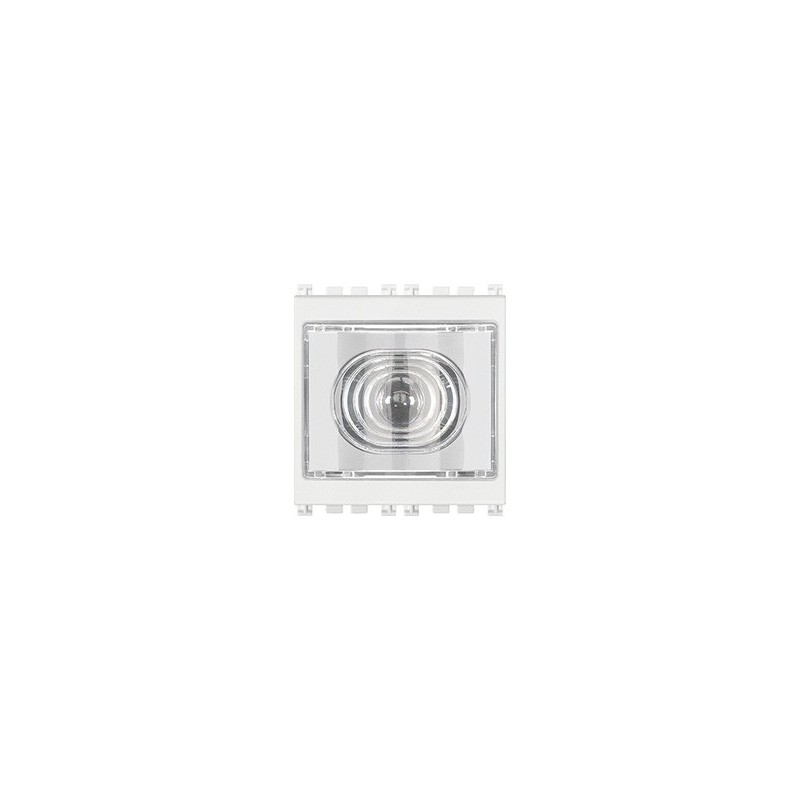 Torcia elettronica bianca portatile 230V