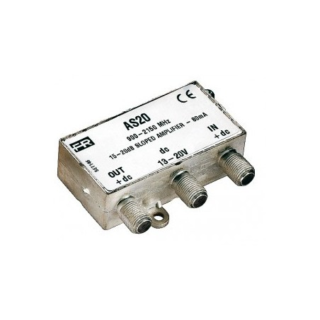 Amplificatore Fracarro di Linea Sat 17-20DB - As20 Fracarro 284013