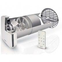 Marley Riscaldamento Ventilatore Spar-Set di distribuzione di calore telecomando piatto tubo valvola