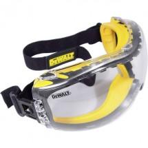 Dewalt DPG82-11D EU Occhiali di protezione incl. Protezione antiappannante Nero, Giallo DIN EN 166