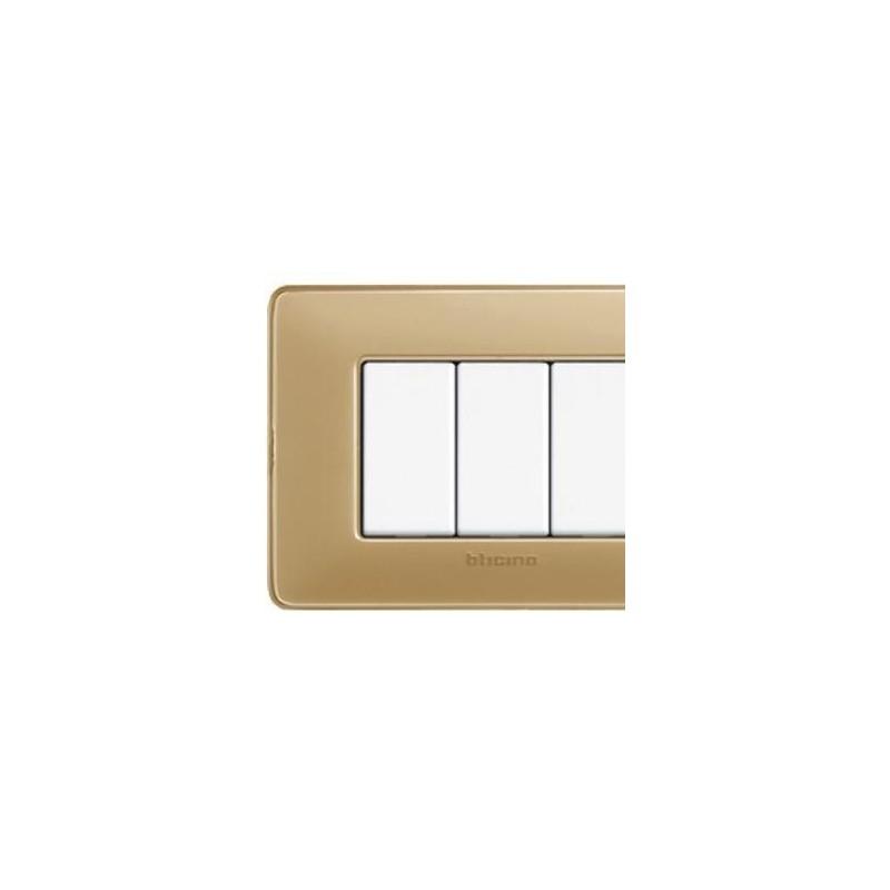 Placca Avorio - 4 Moduli - Bticino Matix