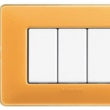 Placca Matix Colors - 6 Moduli - Ambra