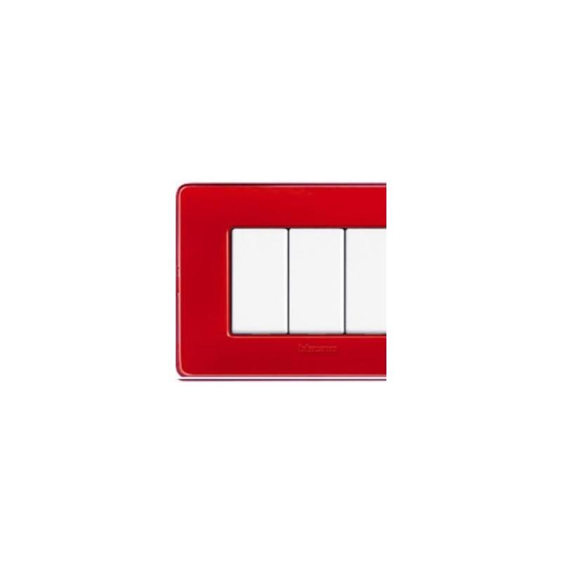 Placca Corallo - Matix - 6 Posti