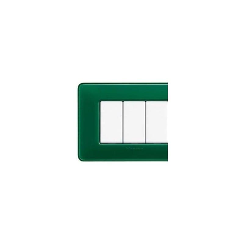 Placca 6 Moduli - Smeraldo - Matix