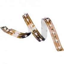 TRU COMPONENTS 1571918 Striscia LED con estremità libera 12 V 67.2 cm Bianco freddo