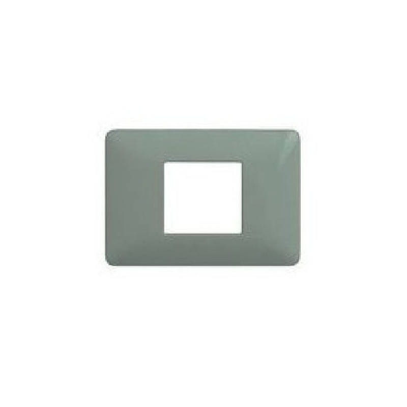 Placca 2 Posti - Silver - Matix Metallics