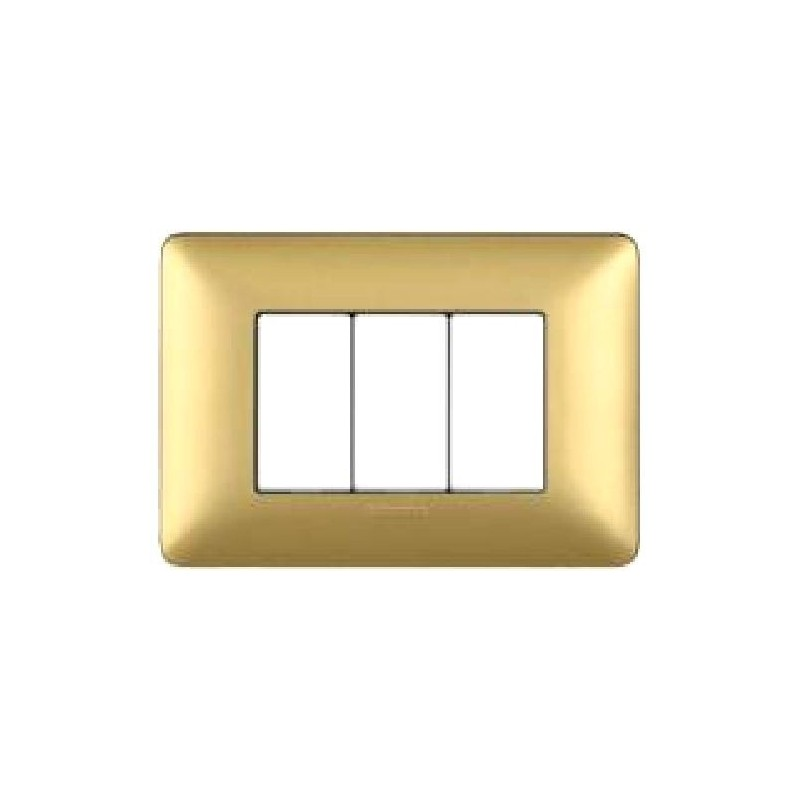 Placca Matix Metallics - 3 Posti - Gold