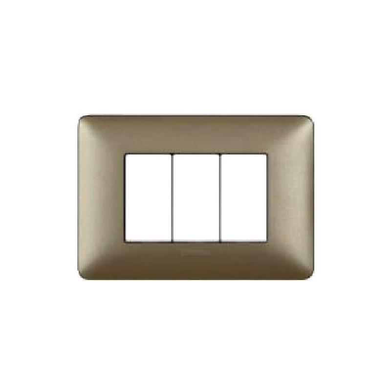 Placca Titanium - 3 Posti - Matix