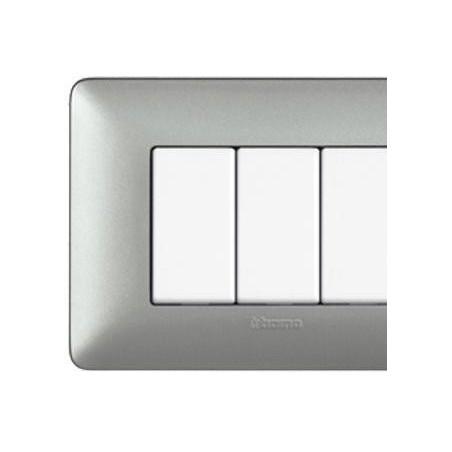 Matix - Placca Silver - 4 Moduli