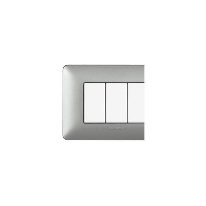 Matix - Placca 4 Moduli Silver - Metallics