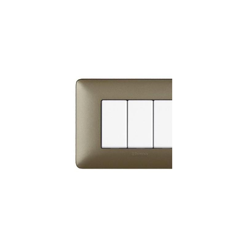 Matix - Placca 4 Posti Titanium - Metallics