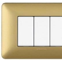 Placca 6 Posti Gold - Matix Metallics