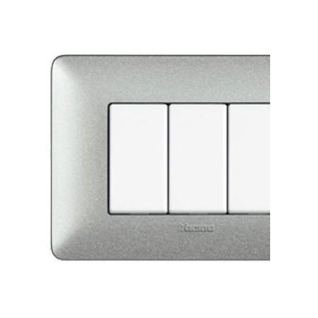 Placca Bianco Calce - 4 Moduli - Textures Matix