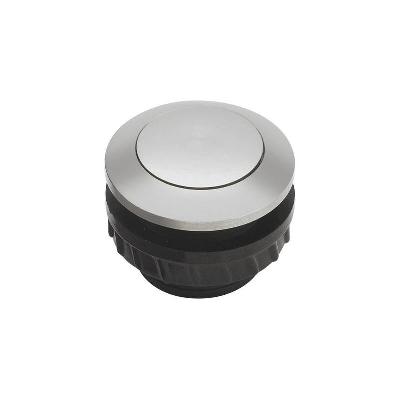 Grothe 62002 Tasto per campanello 1 scomparto Alluminio 24 V/1,5 A