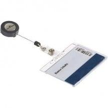 Durable 801219 Portabadge Trasparente 10 Pz/Conf 0.8 m