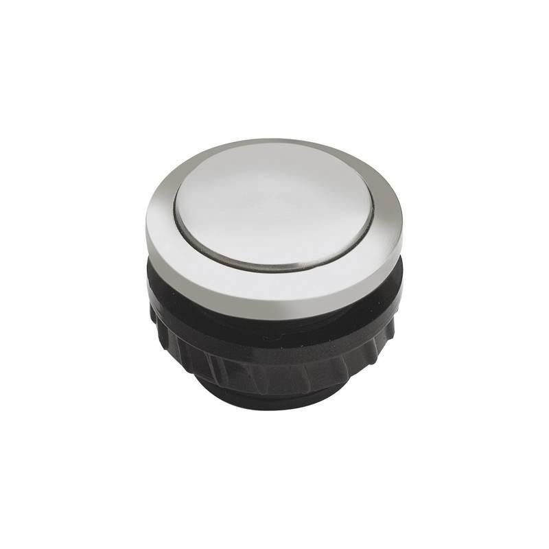 Grothe 62061 Tasto per campanello 1 scomparto Alluminio 24 V/1,5 A