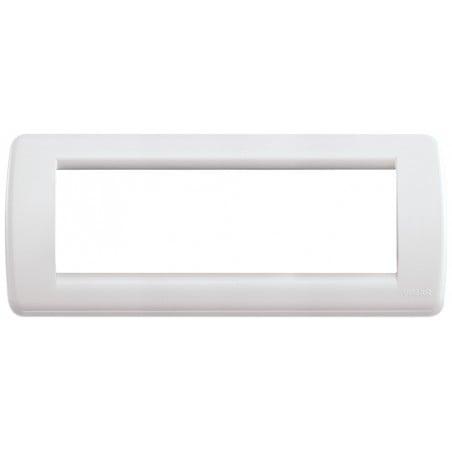 Placca bianca 6 moduli