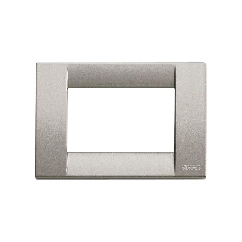 Placca titanio metall. 3 moduli