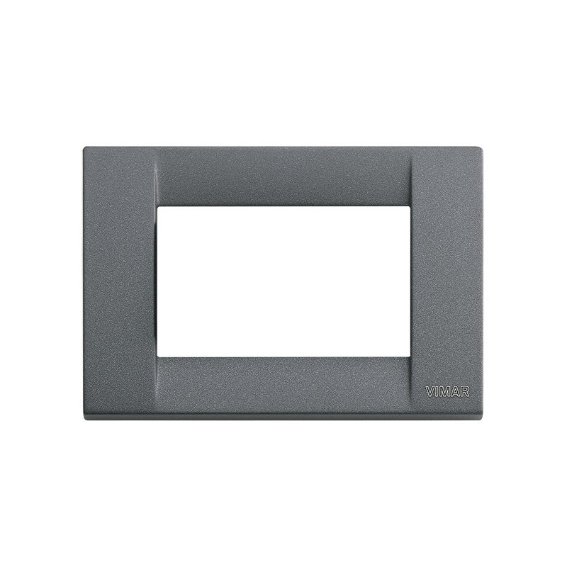 Placca in metallo 3M col. ardesia