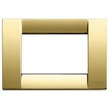 Placca oro lucido 3m in metallo