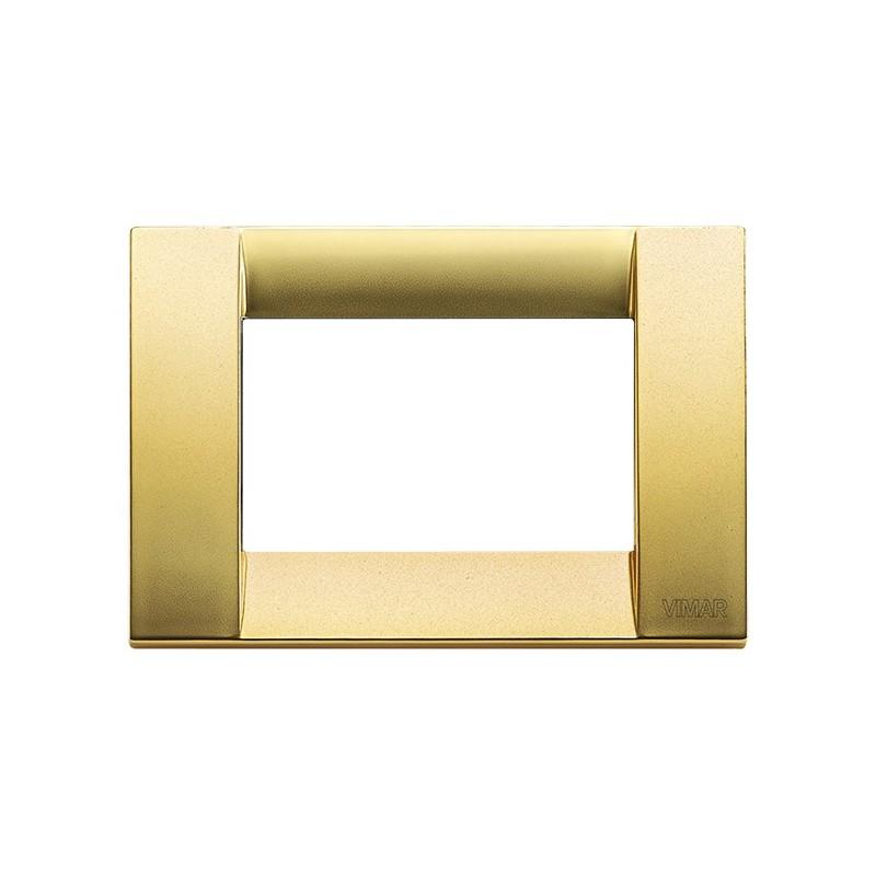 Placca oro opaco 3m in metallo