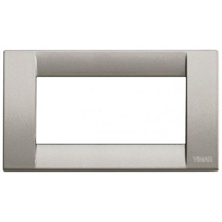 Placca titanio metall 4 moduli