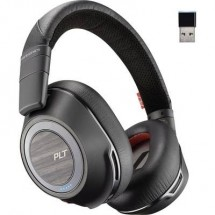 Plantronics 8200 UC Cuffia telefonica Bluetooth Senza filo Cuffia Over Ear Nero