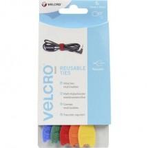 Fascette a strappo per raggruppare Lato morbido e lato rigido (L x L) 200 mm x 12 mm Blu, Verde, Rosso, Arancione,