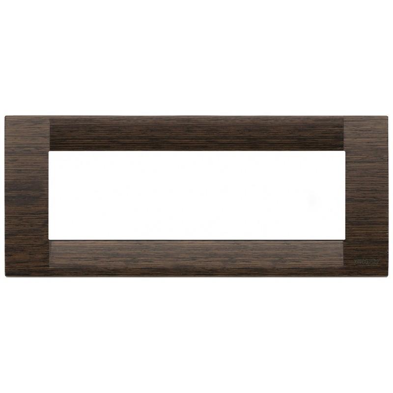 Placca in legno 6mod wengè