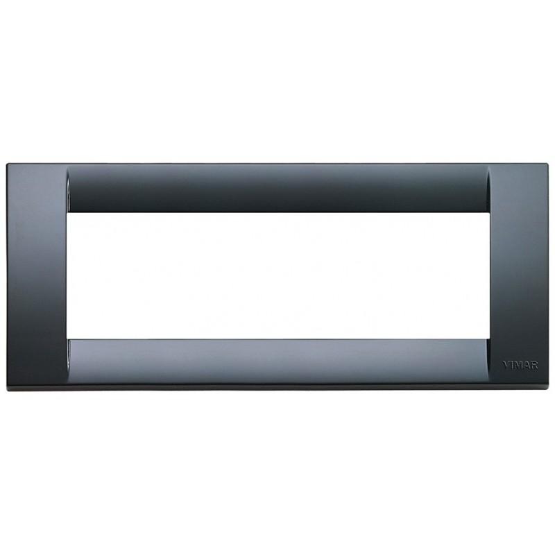 Placca 6mod grigio grafite classica