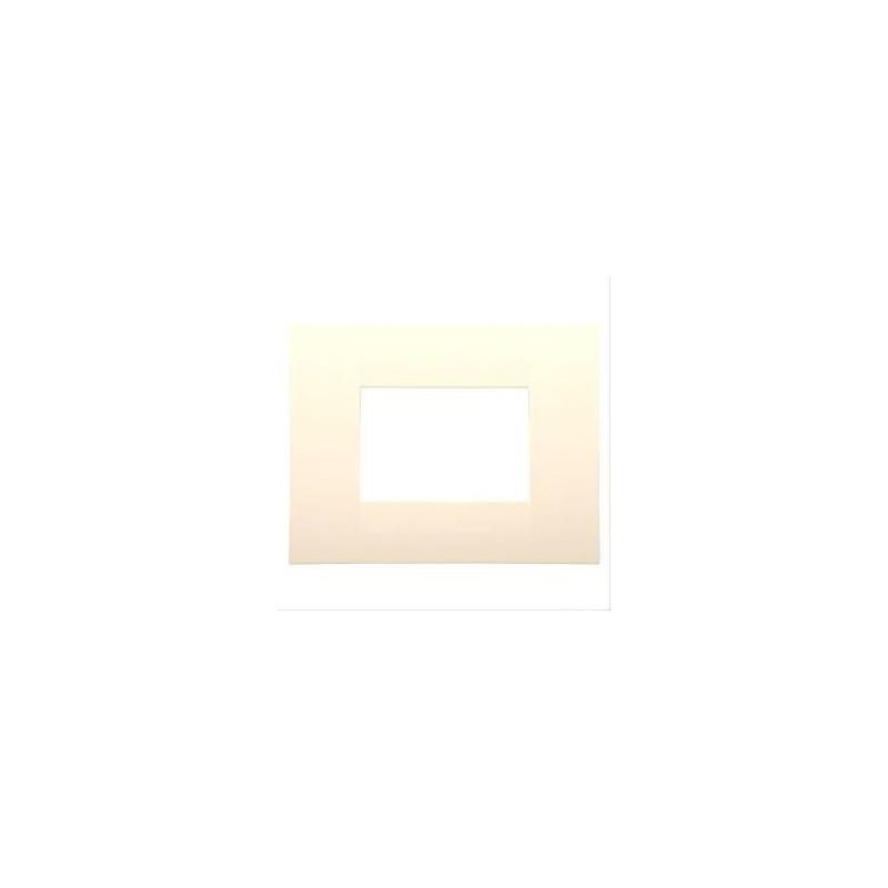 Placca 3 Moduli - Canapa - Chorus Geo