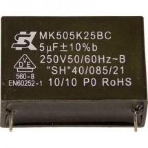 Seika MK250K105 1 pz. Condensatore MKP radiale 1 µF 250 V 10 % 22.5 mm (Ø x A) 19 mm x 10 mm