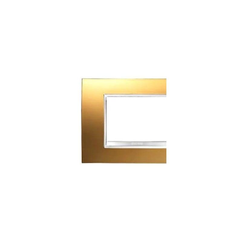 GEWISS GW16203VA PLACCA CHORUS LUX 3 MODULI IN TECNOPOLIMERO ARDESIA