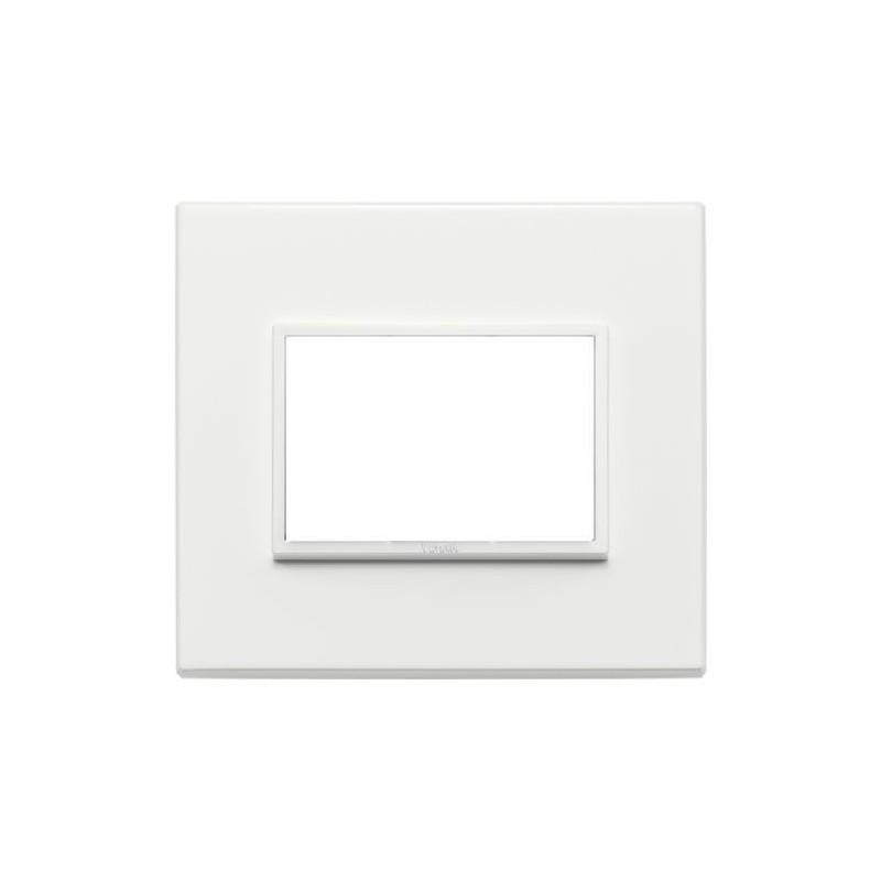 Placca Vimar Eikon Evo - Bianco Totale - 3 Posti