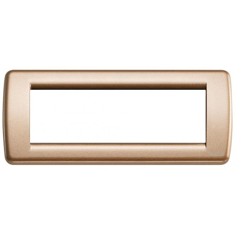 Placca bronzo metall. Rondò 6M