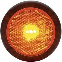 sinistra 12 V Fristom LED Luce di ingombro Luce di segnalazione destra 24 V Ro