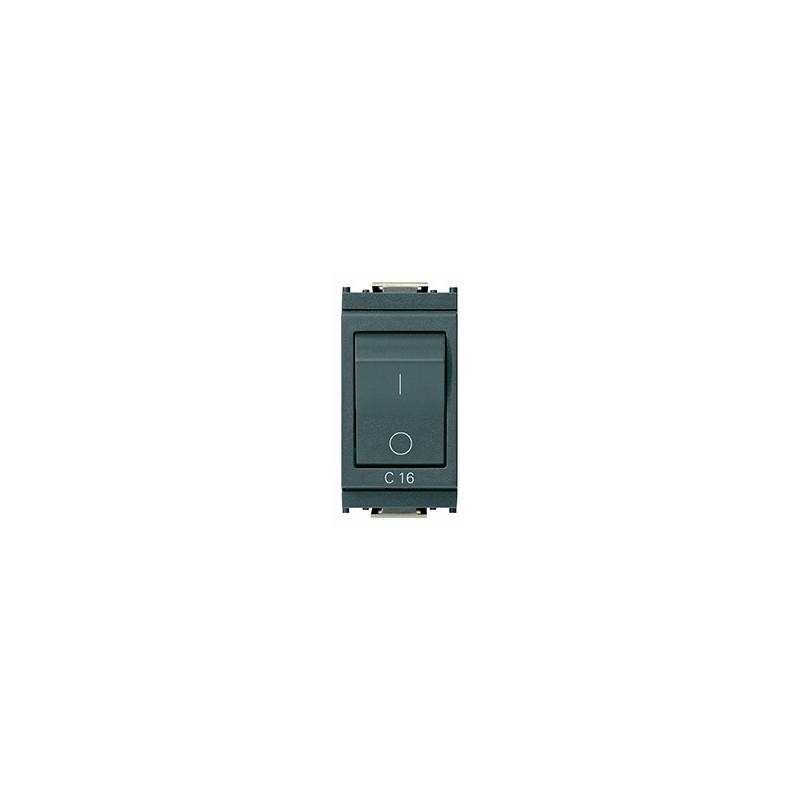 Interruttore magnetotermico grigio