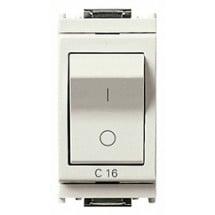 Interruttore magnetotermico bianco