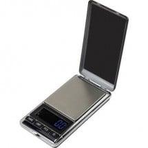 Basetech SJS-60007 Bilancia tascabile Portata max. 500 g Risoluzione 0.1 g a batteria Argento